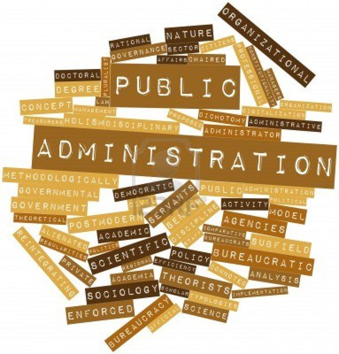 administration public administration Public administration is the implementation of government policy and also an academic discipline that studies this implementation and prepares civil servants for working in the public service as a field of inquiry with a diverse scope whose fundamental goal is to advance management and policies so that government can function.