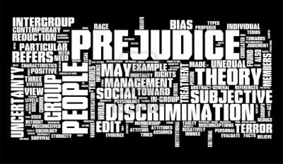 the issue of prejudice in our society Strategies and activities for reducing racial prejudice that exist in our society what is racial prejudice reducing racial prejudice and racism.
