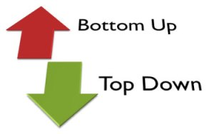 top-down-bottom-up